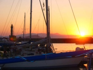 sunset-over-chania